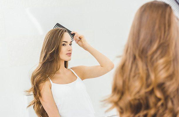 Puszyste włosy i nawilżona skóra to znak, że używasz filtra prysznicowego FITaqua.